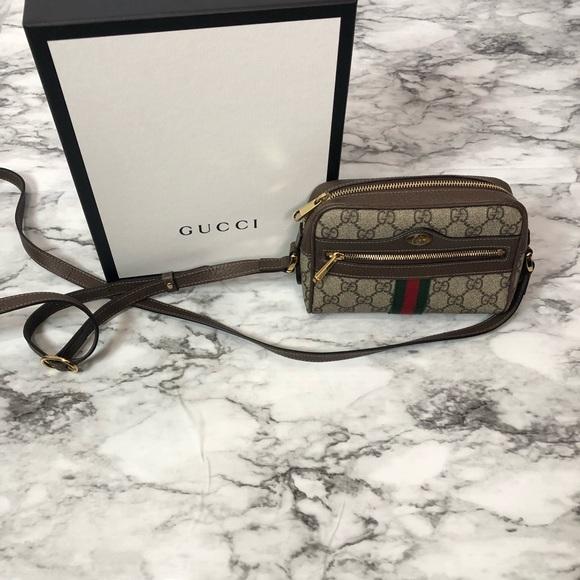 60e4465f26f8fd Gucci Bags | Ophidia Small Gg Supreme Crossbody Bag | Poshmark